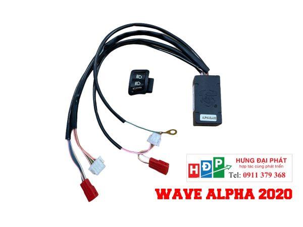 tắt đèn xe wave alpha 2020