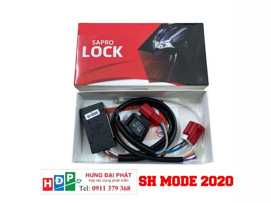 mạch tắt đèn xe sh mode 2020
