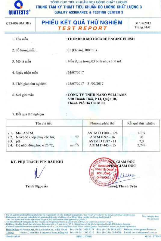 GIAY KIEM DINH CHAT LUONG CUA VIEN TW3