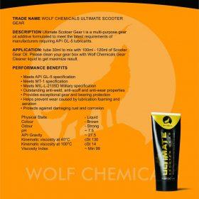 Nano chống hú láp hộp số xe tay ga-Wolf Chemicals 30ml
